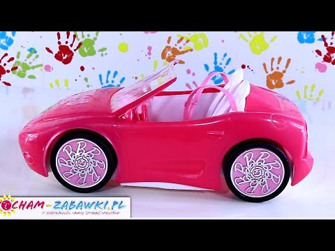 Barbie Glam Auto / Kabriolet Barbie - Mattel - X7944