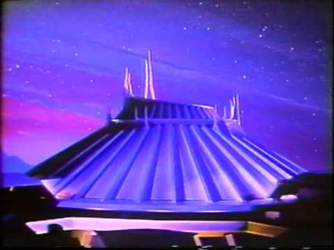Space Mountain Disneyland - original 1977 TV commercial ...