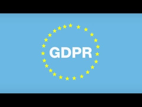 General Data Protection Regulation in 97 seconds