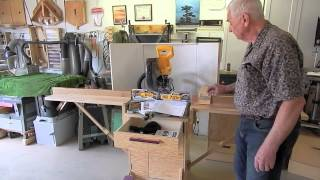 Sliding Miter Saw Stand