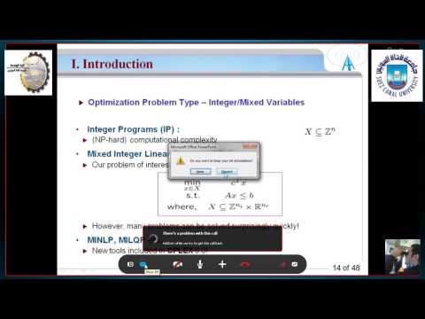 Introduction To Optimization Problem Eng/ Mohamed Yousef