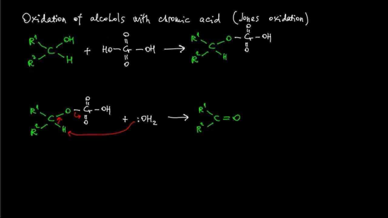 the jones reaction the oxidation of The selective oxidation of primary and secondary alcohols to aldehydes and ketones is a fundamental synthetic transformation 1 that can be achieved using a plethora of reagents of these, chromium(vi) reagents are among the most efficient the synthetic utility of the technique is however often marred by concomitant over-oxidation, leading to the formation of complex reaction mixtures.