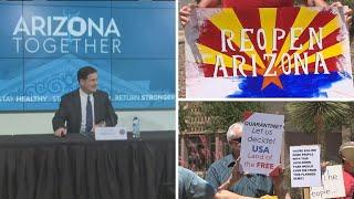 Reopening Arizona during COVID-19