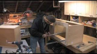 How To Build A Twin Bed W/ Storage - Part 5