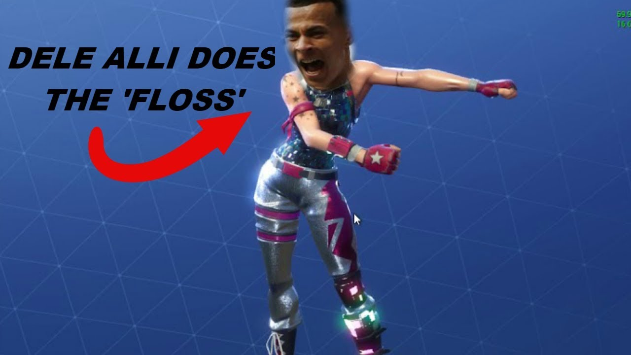 "DELE ALLI ""FLOSS"" FAIL!!! 