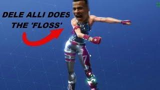 "DELE ALLI ""FLOSS"" FAIL!!! | FORTNITE DANCES IN REAL LIFE"