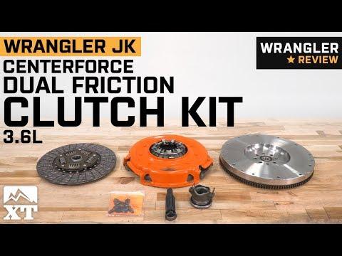 Jeep Wrangler JK Centerforce Dual Friction Clutch Kit (2012-2018 3.6L) Review