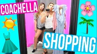 SHOPPING FOR COACHELLA!!