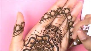 Full-Hand Bridal Henna Design