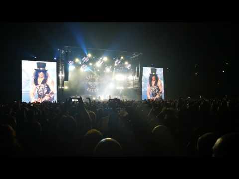 Guns n roses, Stockholm 2017, Paradise City intro!