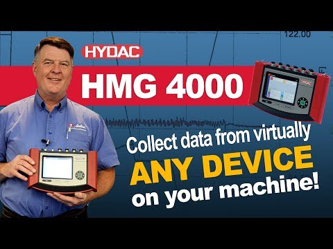 ⚡ HYDAC HMG 4000 |  📉Collect Data From Practically ANY Device On Your Machine!