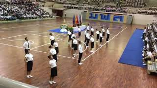 MFU FIGHT FOR FLAG 2018 - CHEERLEADER OF  HEALTH SCIENCE