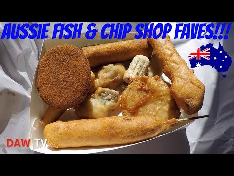 Aussie Fish & Chip Shop Favourites!!!