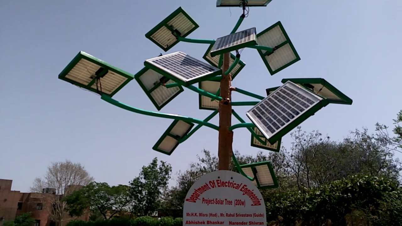 Solar tree project youtube solar tree project sciox Image collections