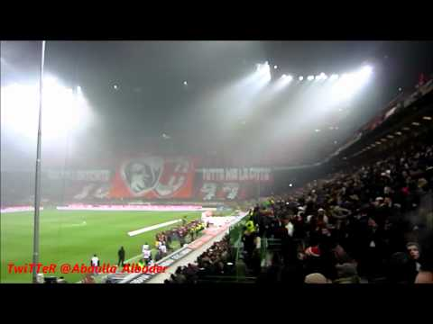 Milan Der 1512012  Ac Milan Song at the san siro before the game