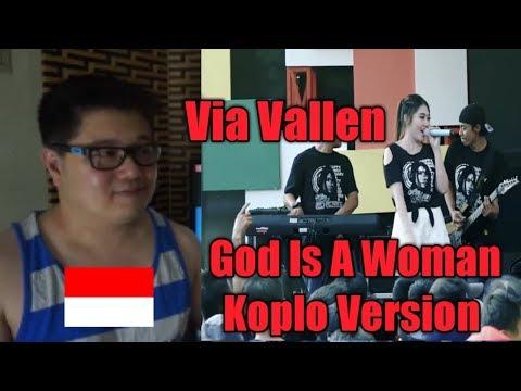 Free Download (reaction Video) Via Vallen God Is A Woman L Koplo Version L Ariana Grande Mp3 dan Mp4