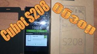 Телефон Cubot S208(A) - Обзор