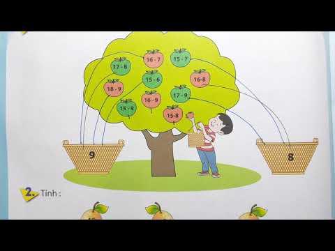 PHÁT TRIỂN NĂNG LỰC HỌC TOÁN LỚP 2 - TUẦN 14 - BẢNG TRỪ - Thầy Nhựt TV
