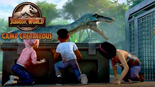 Setting the Dinosaurs Free | JURASSIC WORLD CAMP CRETACEOUS | NETFLIX