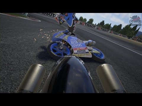 MotoGP 18   Career Pt 9: A Clash With Canet! (Xbox One X)