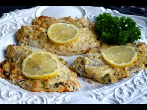 {Dinner Recipe} Mustard Roasted Fish Recipe By CookingForBimbos.com