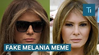 Here's why people think Melania Trump was replaced by a body double - and why they're wrong