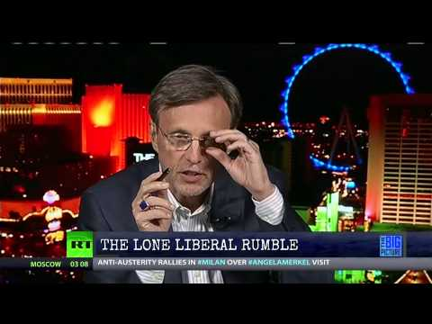 Lone Liberal Rumble - Kevin Steals Thom's Bell!