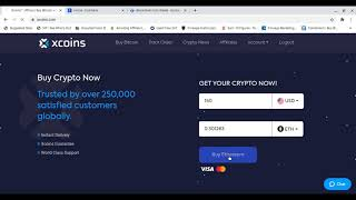 Xcoins - Buy Bitcoin With Credit or Debit Card Instantly