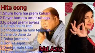 Top Trande💓🌿🌺Mohammad Aziz Hindi Bollywood Song, Hits Song,Nonstop Music Lockdown Top Search Song