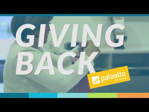 People of Palo Alto Networks - Giving Back