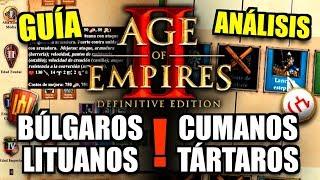 NUEVAS CIVILIZACIONES de AGE OF EMPIRES 2: UNIDADES, BONIFICACIONES y TECNOLOGÍAS
