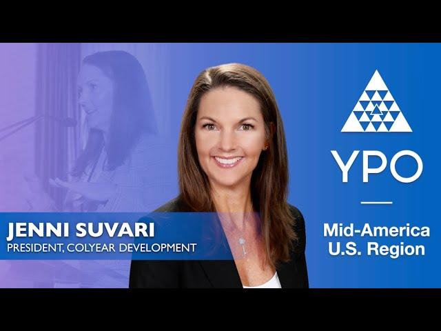 YPO Mid-America - Jenni Suvari
