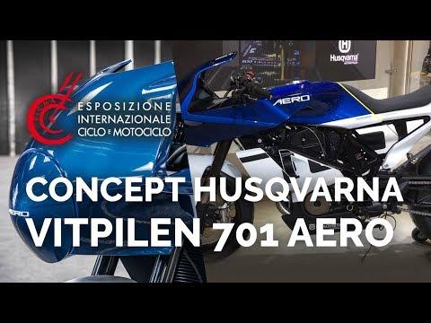 Concept Husqvarna Vitpilen  Aero - Salon EICMA - nouveautés