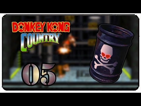 Donkey Kong Country 101% Walkthrough Part 5 - Kremkroc Industries, Inc. [SNES]