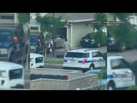 Honolulu police recover vehicle involved in fatal H-1 altercation, suspect still at large