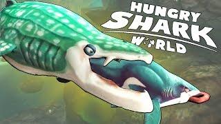 КИТОВАЯ АКУЛА ПРОГЛОТИЛА ВСЕХ АКУЛ   Hungry Shark World