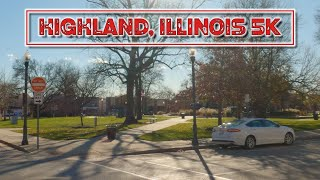 A Quiet Illinois Town 30 Minutes East of St. Louis: Highland, Illinois 5K.
