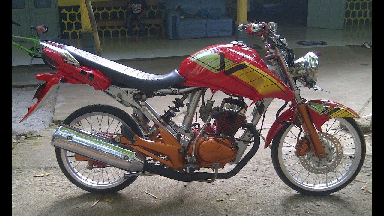 Gambar Motor Tiger Herex Kartun Rosaemente Com