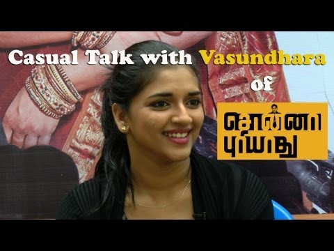 A Friendly chat with Sonna Puriyathu Heroine Actress Vasundhara Kashyap -- Red Pix