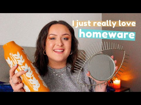 a very enthusiastic homeware haul (H&M Home, Oliver Bonas, John Lewis)