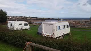 Berwick seaview caravan club site part 2