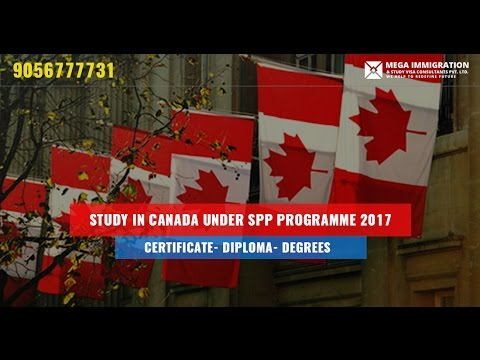 Study in Canada Under SPP Programme 2017