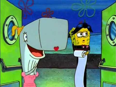 Sponge Bob - Hollywood tonight (by Michael Jackson)