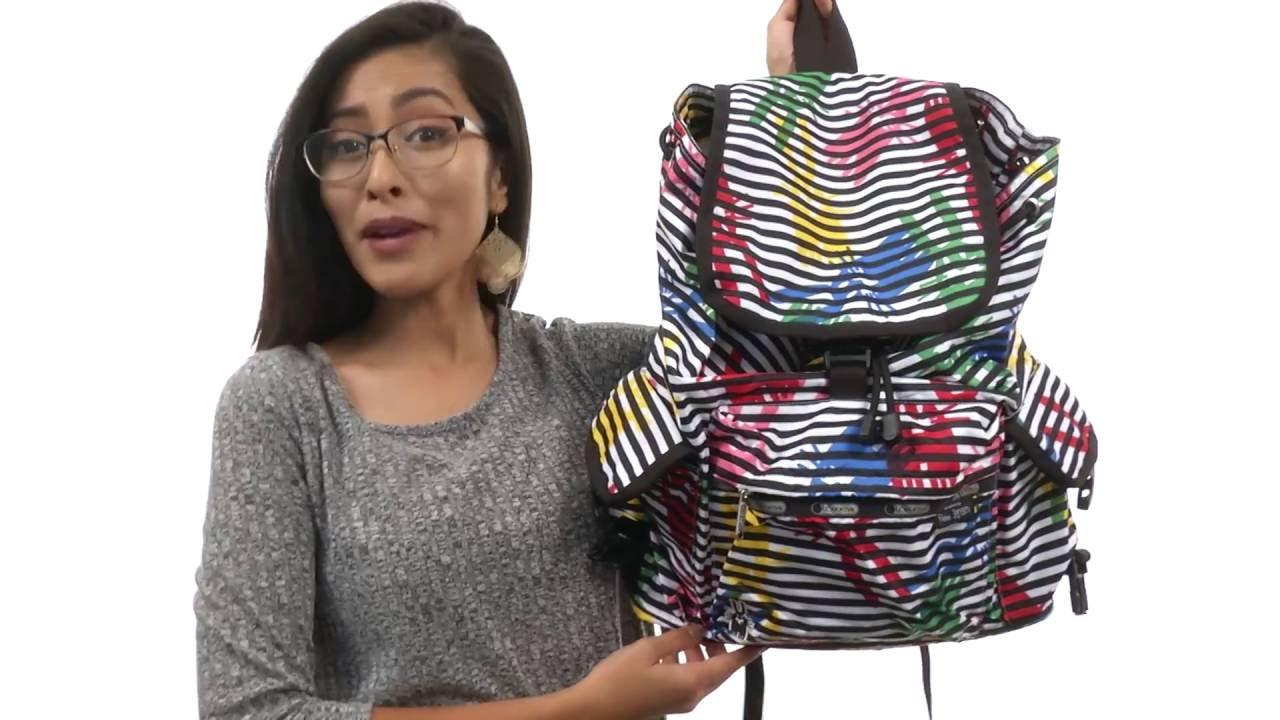 2b3ac1b2c LeSportsac Voyager Backpack SKU:8394696 - YouTube