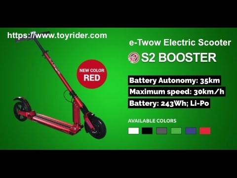 E-Twow Electric Scooter Review - Test Run S2 Booster Scooter