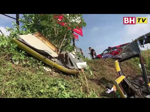 14 maut bas ekspres jatuh gaung di Pagoh