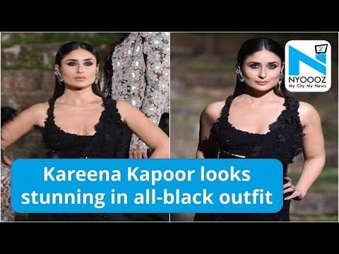 LFW Finale: Kareena Kapoor Looks Stunning In All-Black Outfit | NYOOOZ TV Mp3
