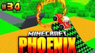 Der TÖDLICHE SPRUNG geht SCHIEF?! - Minecraft Phoenix #034 [Deutsch/HD]
