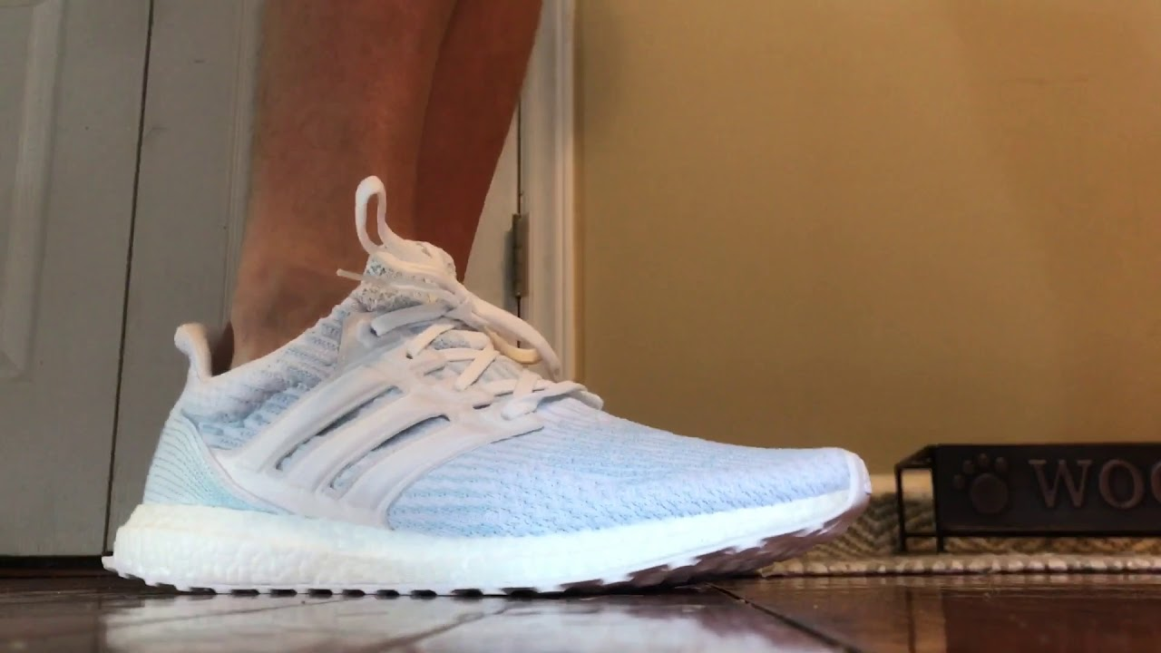 the best attitude a6f22 91709 On Foot White Adidas Parley UltraBOOST