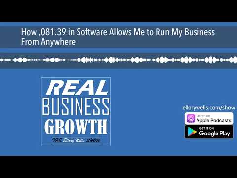How $2,081.39 in Software Allows Me to Run My Business From Anywhere